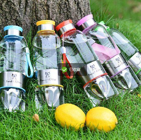 Photo of US $28.0 |Outdoor stainless steel lemon juice glass bottle Lemon Water Bottle Cycling Tea Cup Juice Source Bottle|cup brush|bottle cupbottled iced tea brands – AliExpress