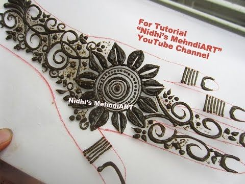 New Flower Mehndi : New latest mehndi designs all dma homes