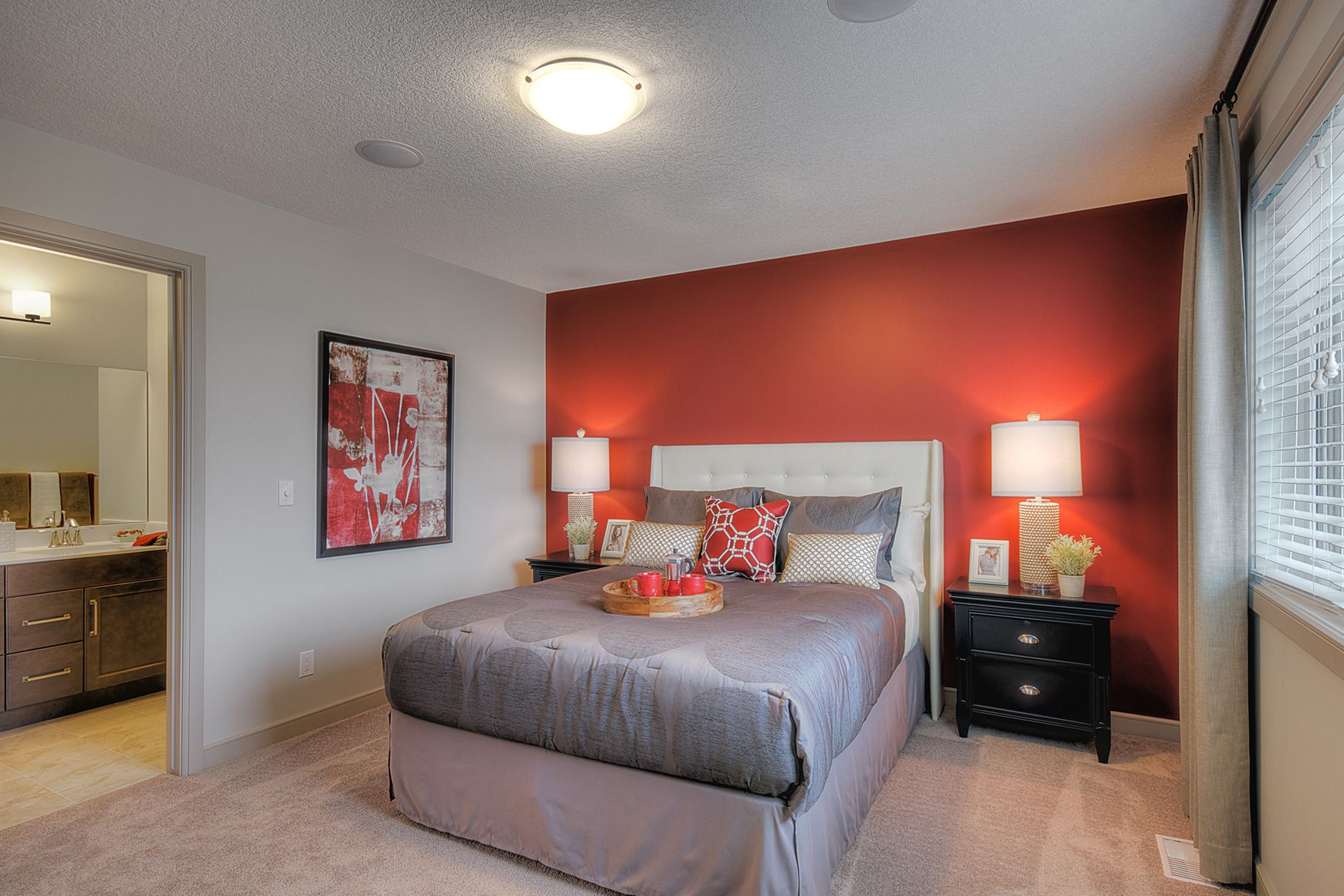 The master suite is a retreat within your beautiful home. It is set ...