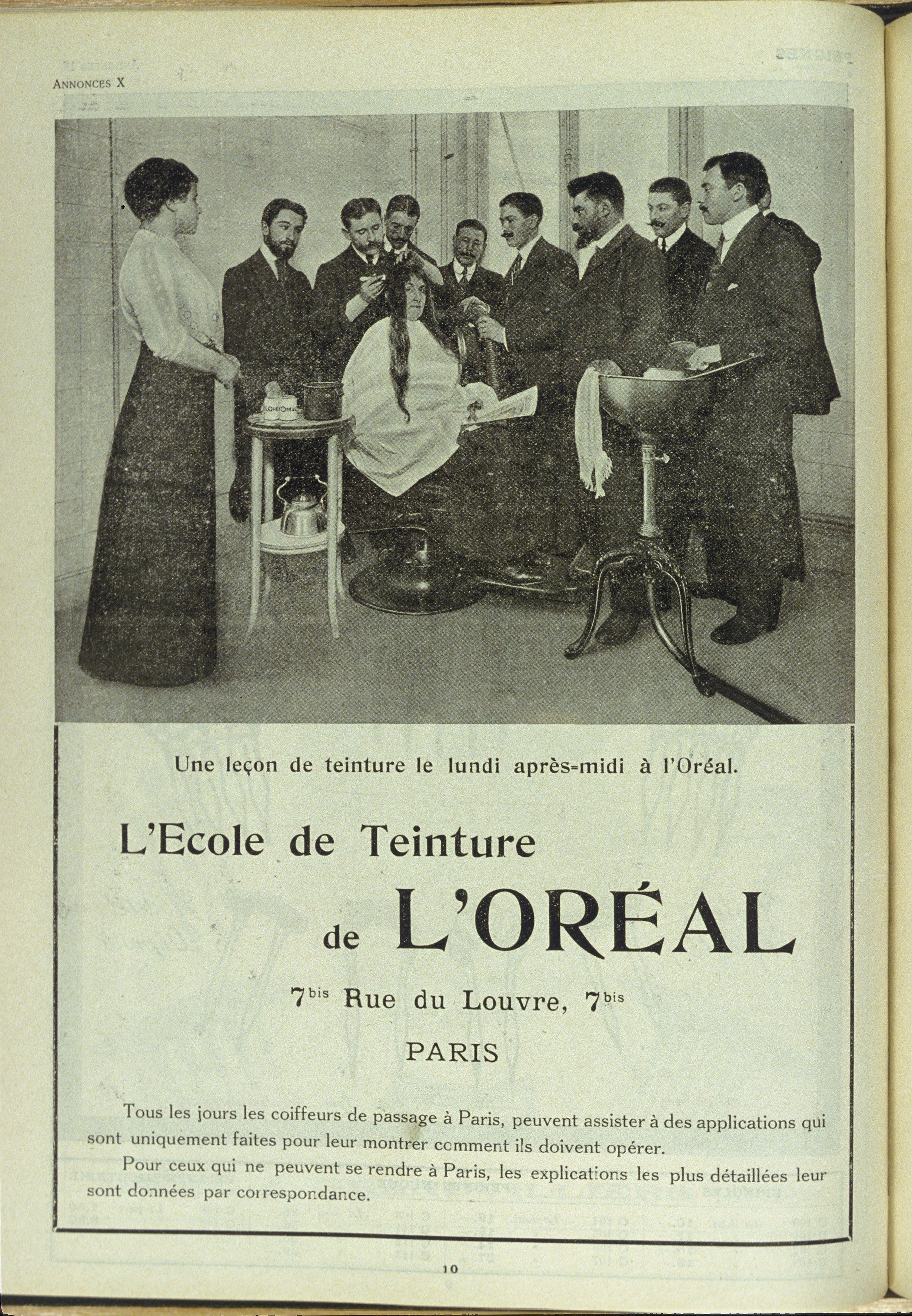 L Histoire L Oreal Professionnel L Oreal Professionnel Fr L Oreal L Oreal Professionnel Coiffeur