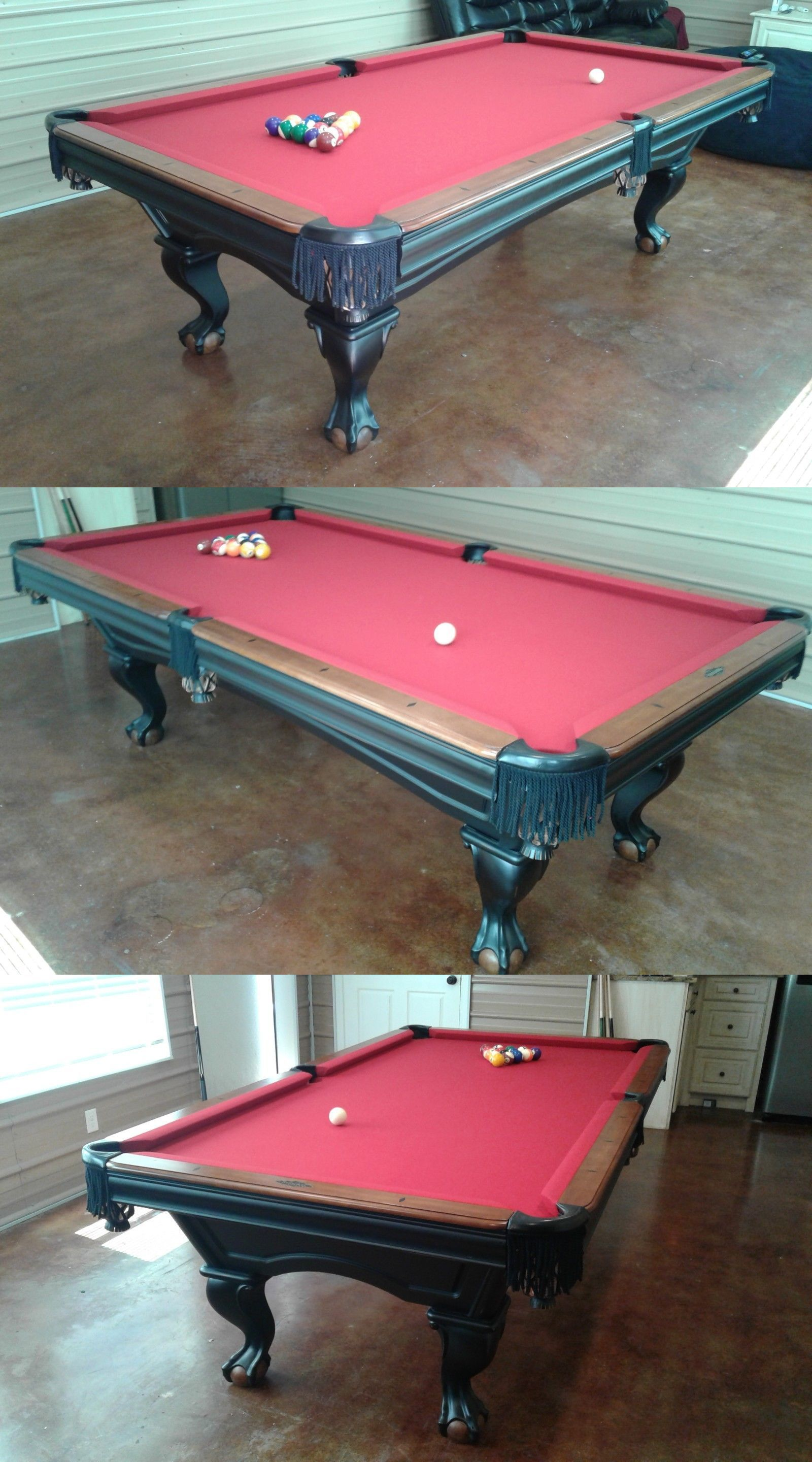 Tables 21213: Beautiful Brunswick Glenwood 4X8 Pool Table W Delivery And  Installation  U003e BUY