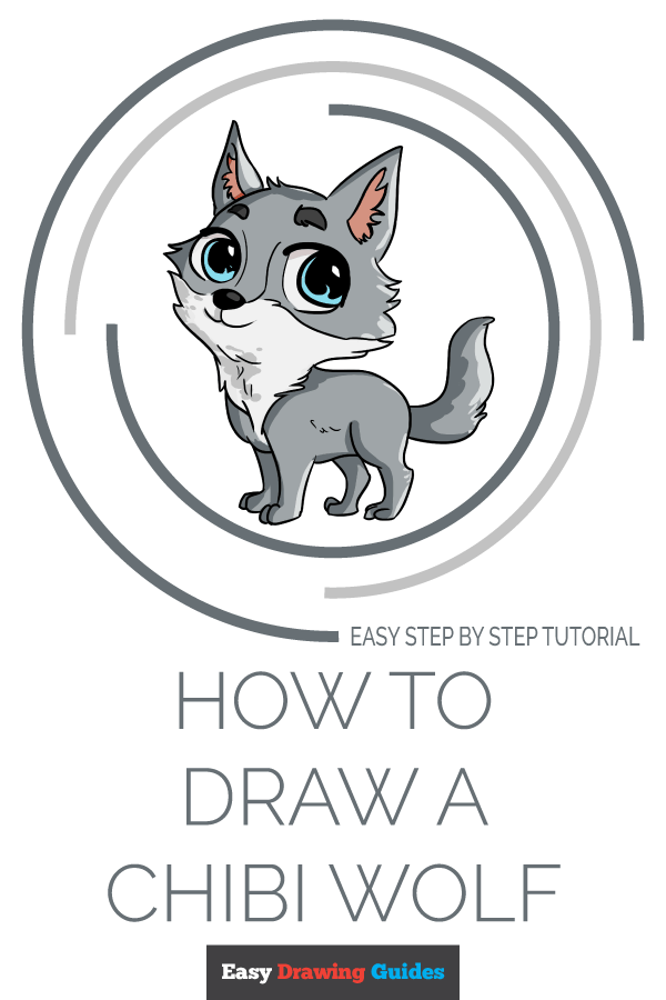 How To Draw A Chibi Wolf Really Easy Drawing Tutorial In 2020 Anime Wolf Drawing Chibi Anime Wolf