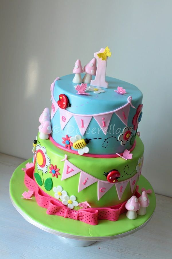 Enchanted garden cake for twins | Twins cake, Cake, Garden ...