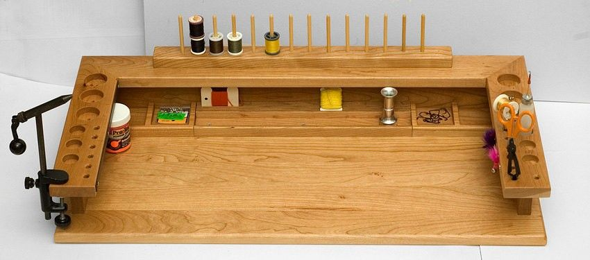 Good Fly Tying Bench Ideas Part - 2: 30+ DIY Fly Tying Station Ideas