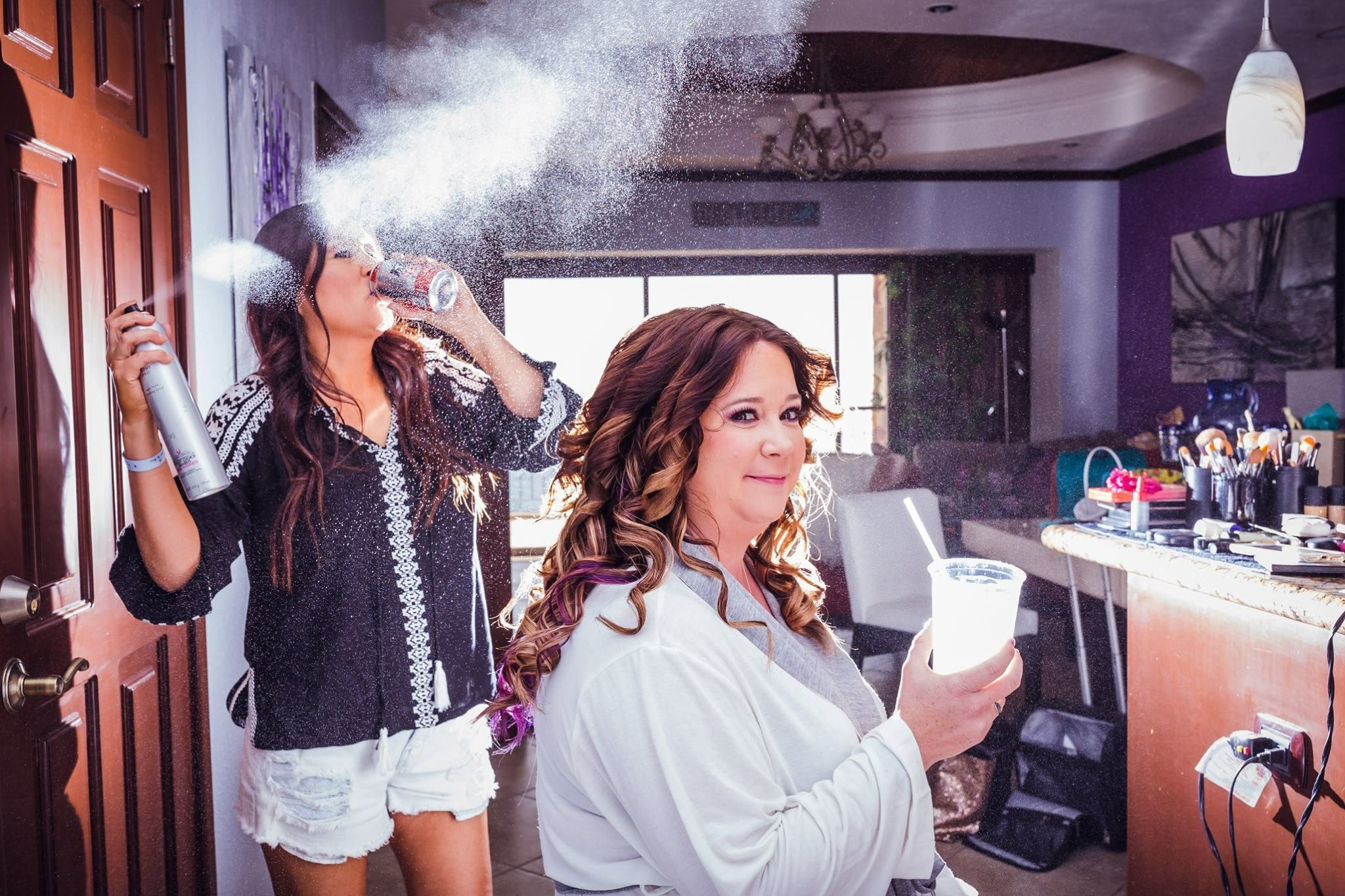 mexico wedding hair and makeup | northern arizona glam squad | yes