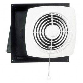 Broan 506 Wall Mount Square Bathroom Utility Fan With White Square Grille Bathroom Exhaust Fan Bathroom Fan