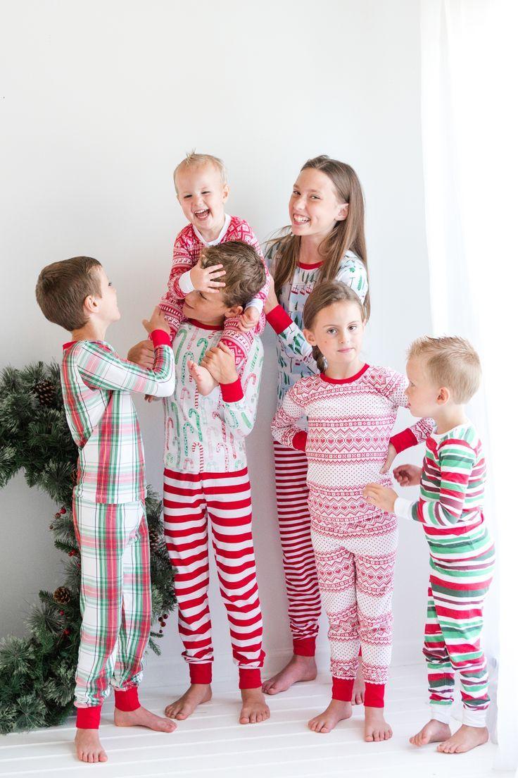 Kid's Christmas Pajamas in 2020 Matching christmas