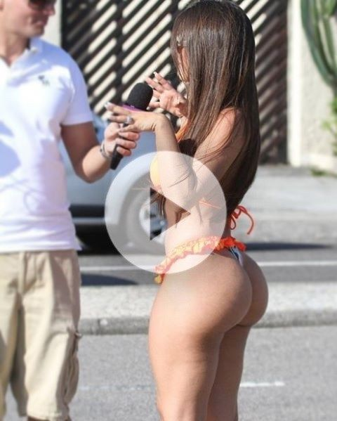Candid mexican milf ass