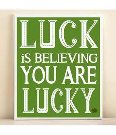 Life lucky quotes
