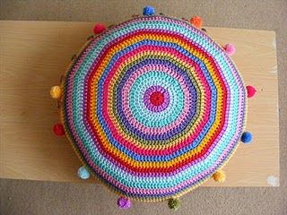 Crochet Cushion!  Must make!