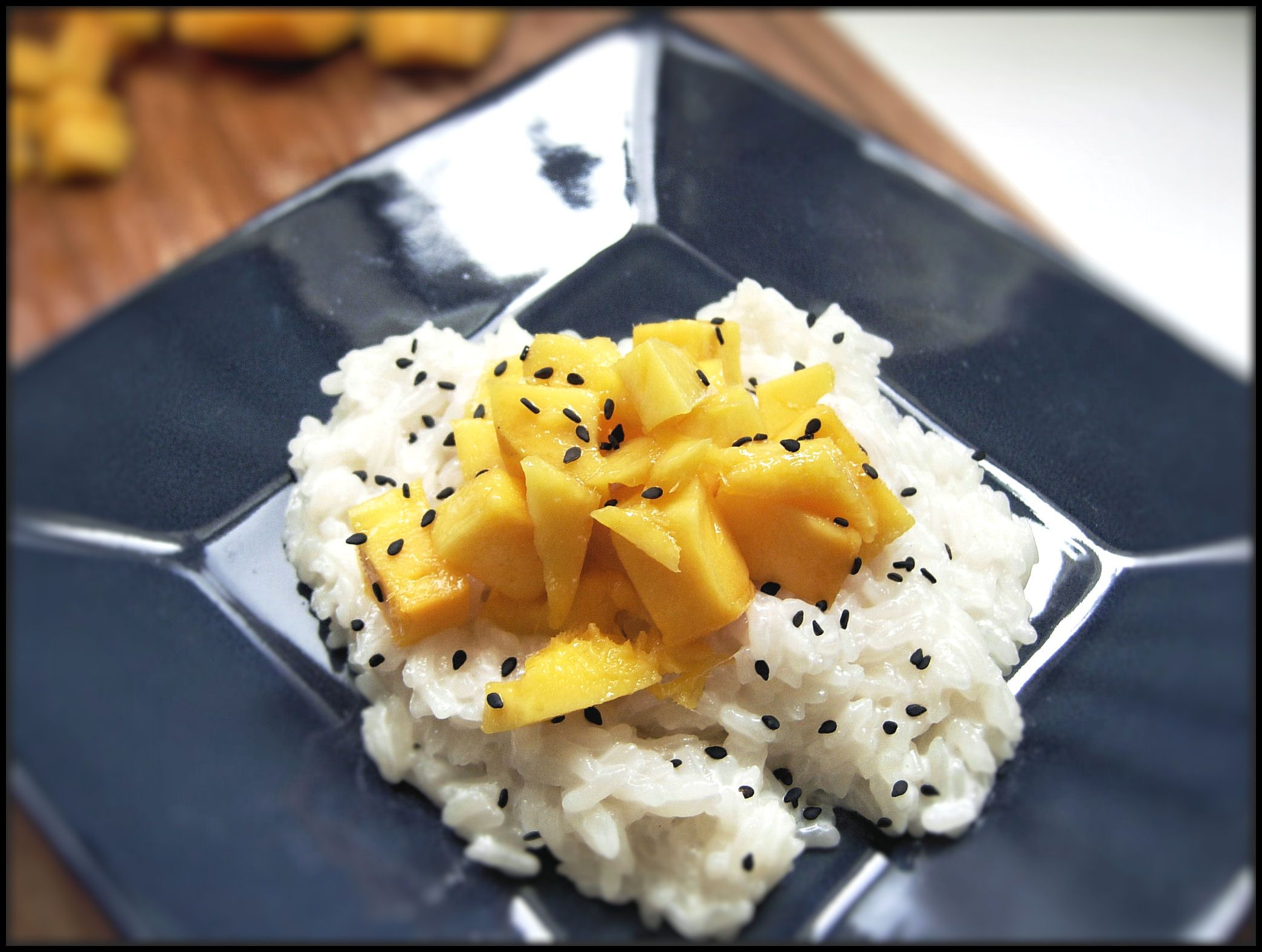 Thai Sticky Rice With Mangoes (Khao Niao Mamuang) | Food ...