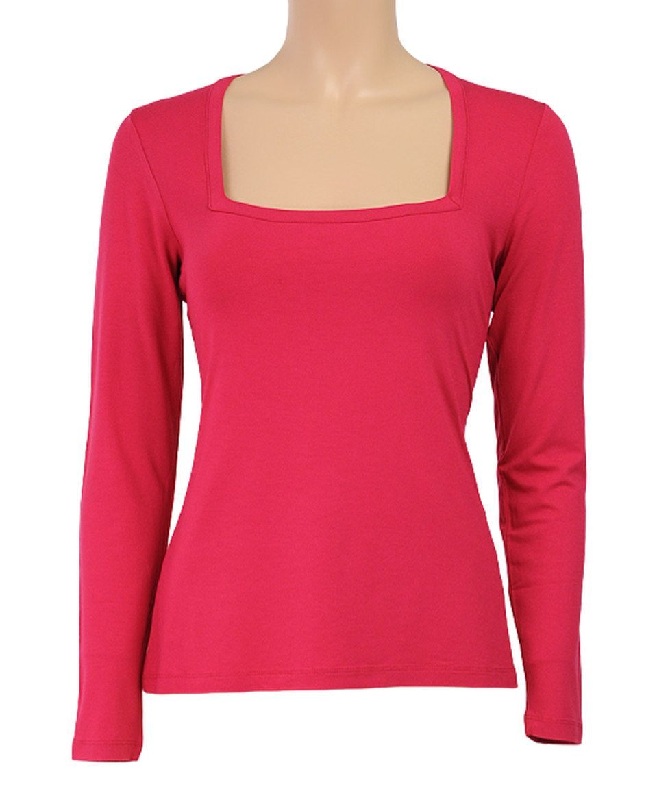 This Granita Square Neck Top by Louie et Lucie is perfect! #zulilyfinds