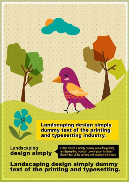 Landscaping Flyer Template 4 | Landscaping flyer templates ...