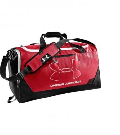 underarmour red holdall or kitbag