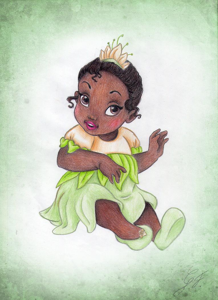 Baby Princesstiana By Gf By Gfantasy92 Deviantart Com On Deviantart Disney Princess Tiana Black Disney Princess Alternative Disney Princesses