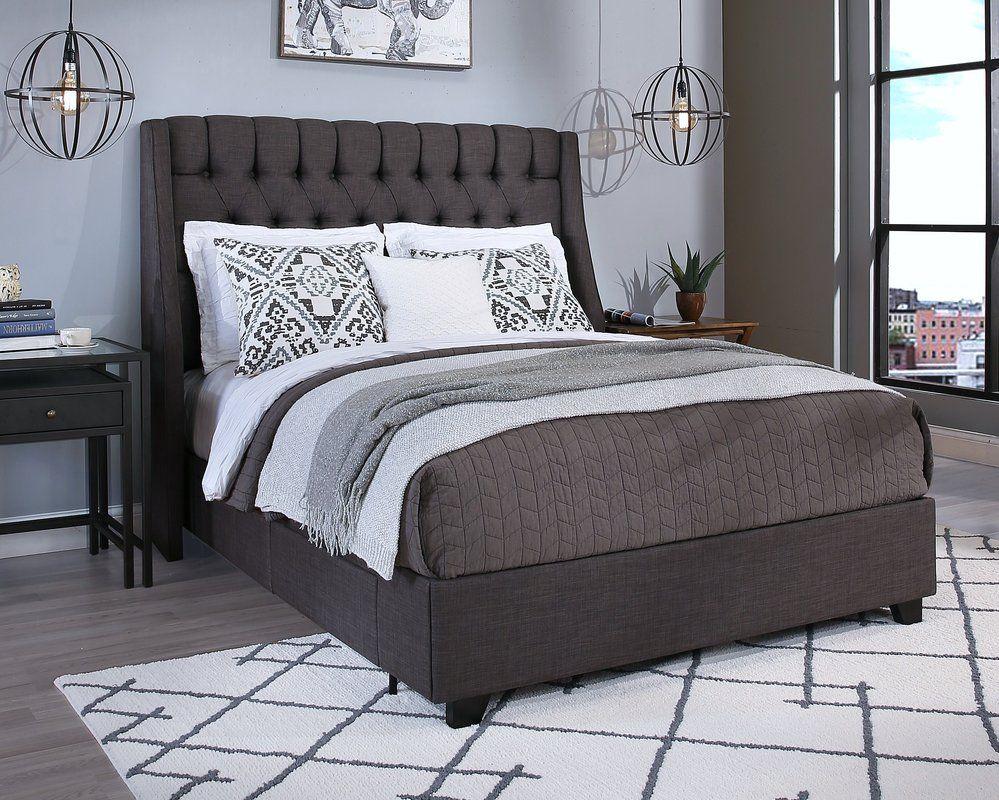 Difranco Storage Platform Bed Upholstered platform bed