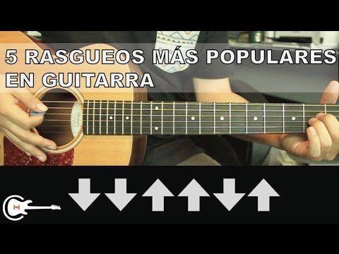 Aprende A Tocar Los 10 Ritmos Y Rasgueos Principales En Guitarra Acústica Para Principi Acordes De Guitarra Notas Musicales De Guitarra Partitura Para Guitarra
