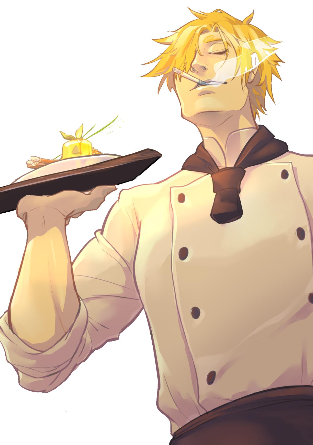 Sanji Cooking Fanart