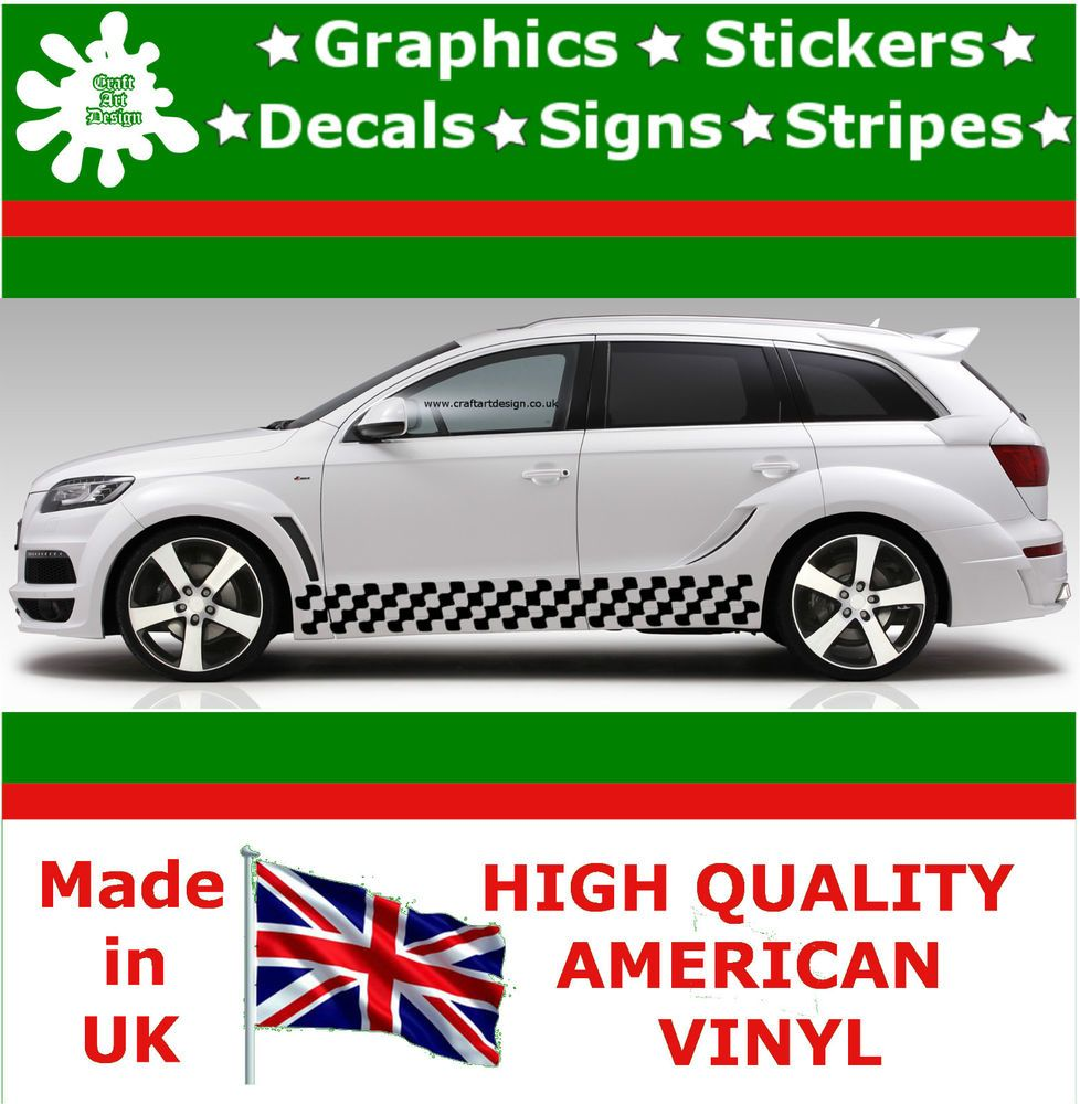 Car design sticker stripes - Car Stripes Racing Sticker Art Set Vinyl Graphics Decal Auto Rally Jdm Viper 2