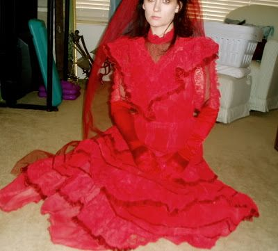 Wedding Gown Diy Lydia Deetz Beetlejuice Costume Gowns Beetlejuice Wedding