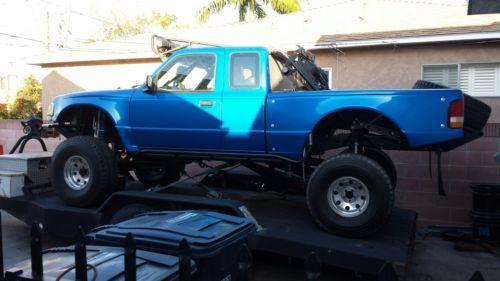 Prerunner For Sale >> 1996 Ford Ranger Prerunner Blue For Sale On Craigslist