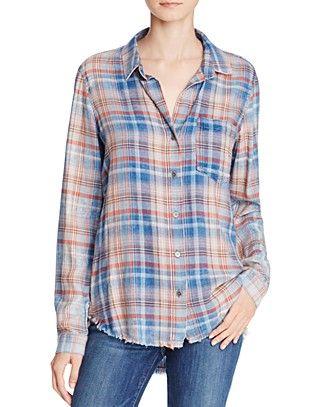 Bella Dahl Plaid Shirt