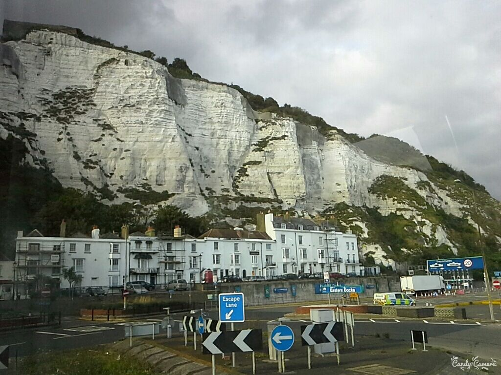#cliffs #Dover #England #UK #back #to #Warsaw #school #trip