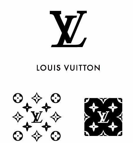 De Balde Simple Logo De Louis Vuitton Y Patron De Vector De Titanui Patron De Vector Logotipo De Chanel Logos Marcas De Ropa