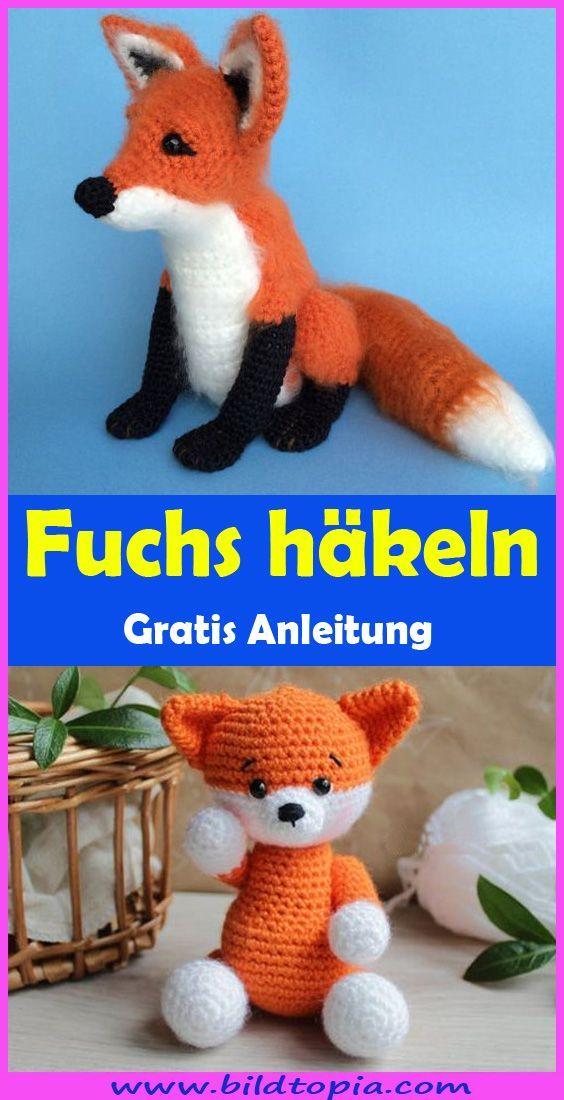 Photo of Häkeln Sie Amigurumi Fox – Kostenlose DIY-Anleitung