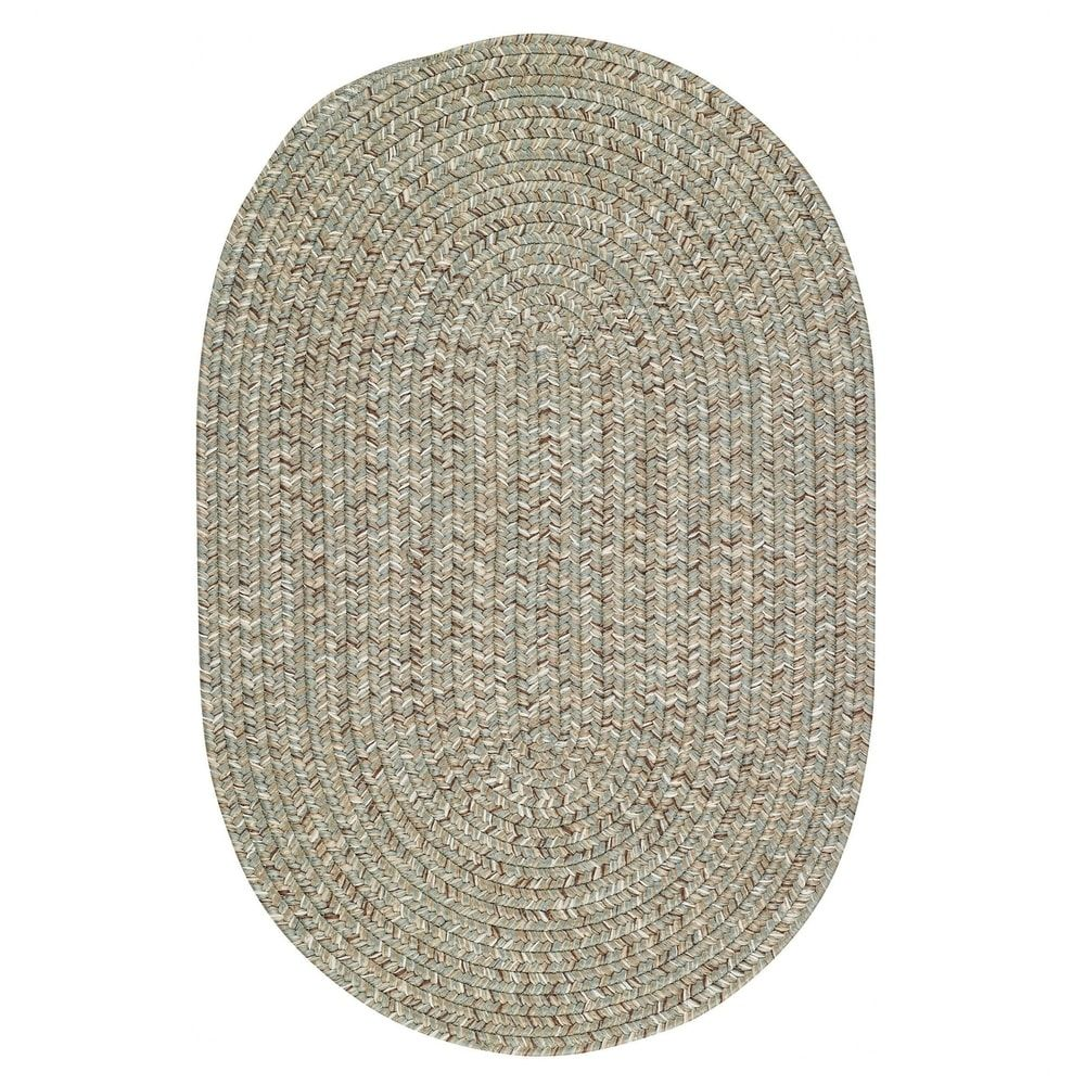 Sea Gl Spa Oval Outdoor Braided Rugs