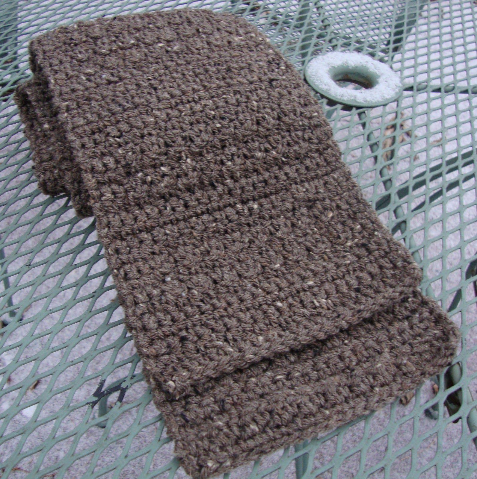 The Good Life: Burly Tweed Man\'s Scarf | Mutsen en sjaals ...