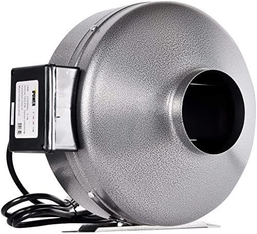 Best Seller Ipower 6 Inch 442 Cfm Inline Duct Ventilation Fan Hvac Exhaust Blower Grow Tent Grounded Power Cord Renewed Online In 2020 Grow Tent Bathroom Exhaust Fan Fans For Sale