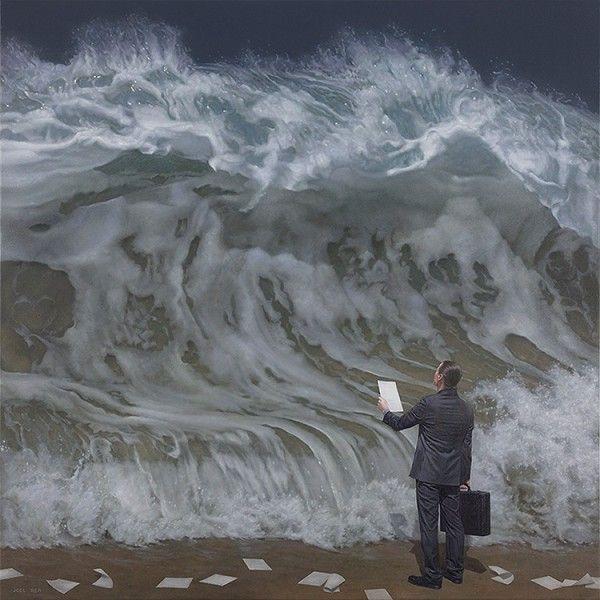 Eine hyperrealistische Kunst von GOTTFRIED HELNWEIN - #