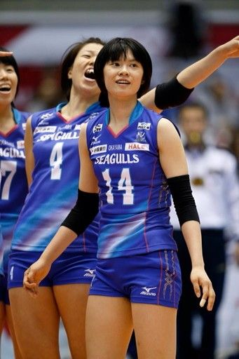 Haruka At V League Japan 2014 Women Volleyball Volleyball Players Sports