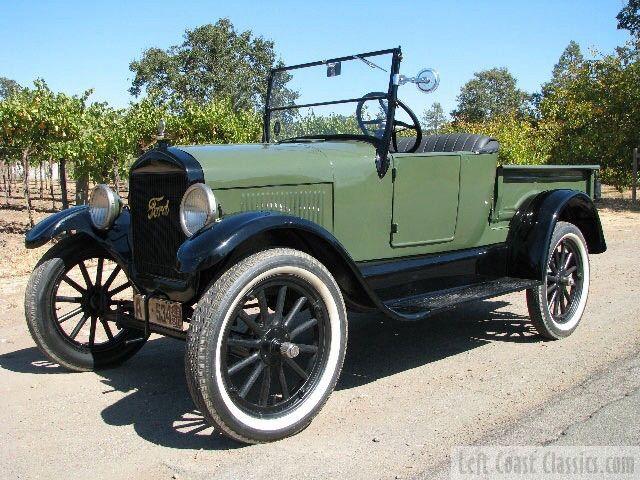 1926 Model T Pickup Ford Truck Models Ford Models Model T