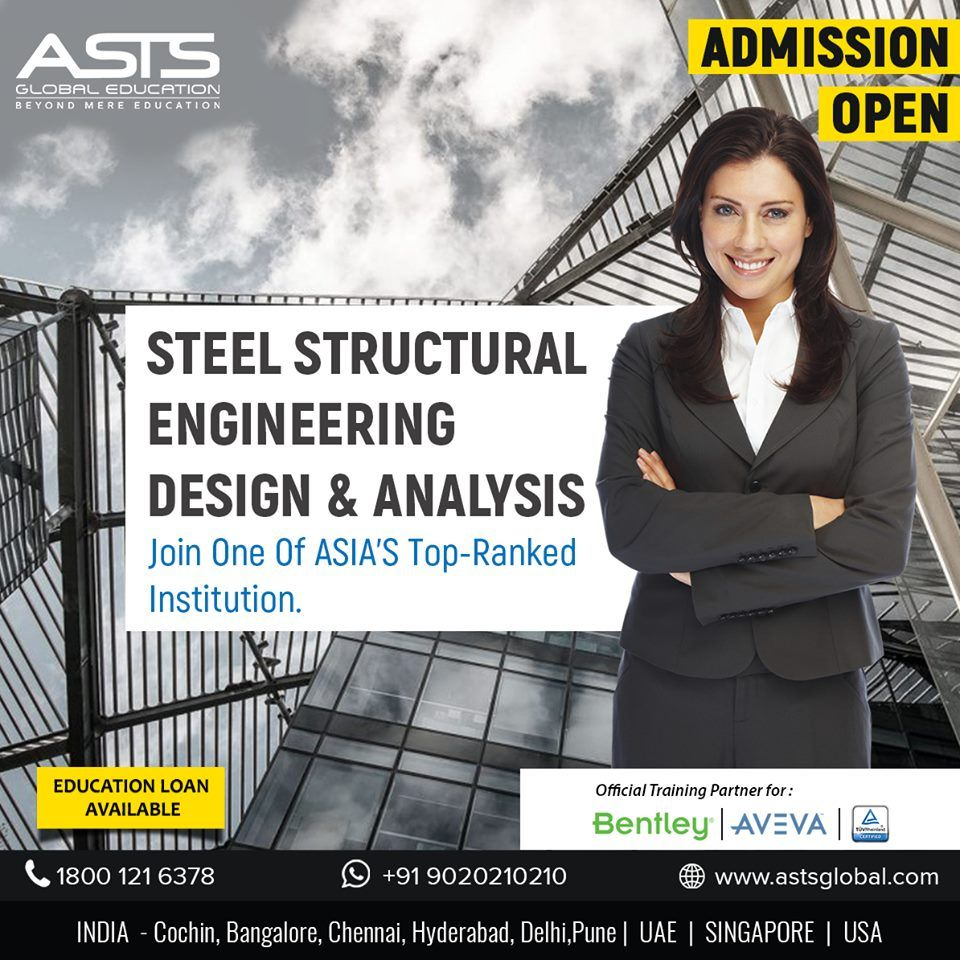 Pursue your career in Steel Structural Engineering Design