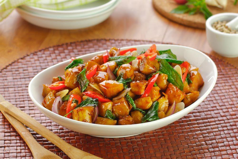 Tumis Ayam Aroma Kemangi Resep Resep Masakan Resep Masakan Indonesia Masakan Indonesia