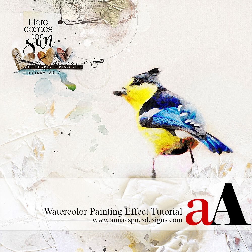 Watercolor Painting Effect Tutorial Watercolor Paintings