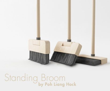 pom liang how to make your broom stand out..