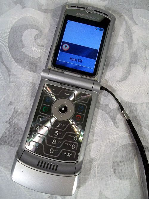 Motorola RAZR V3 - Silver (AT&T) Cellular Phone | Silver ...