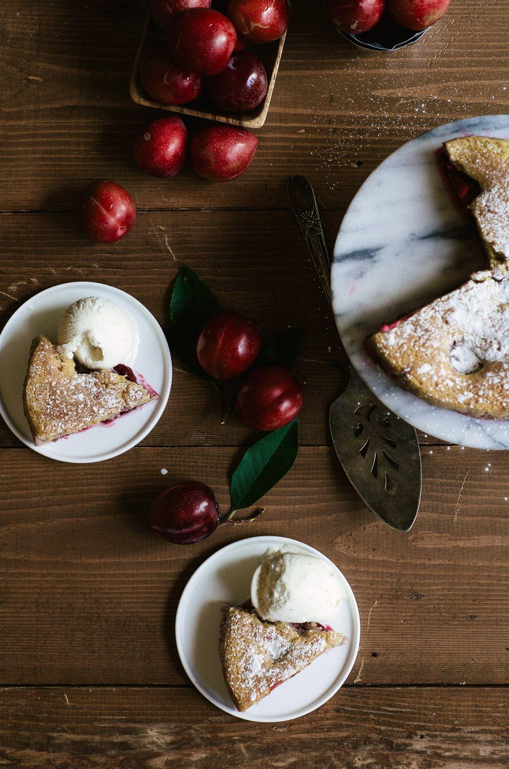 Paleo Plum Cake Recipe Plum cake, Fall dessert recipes