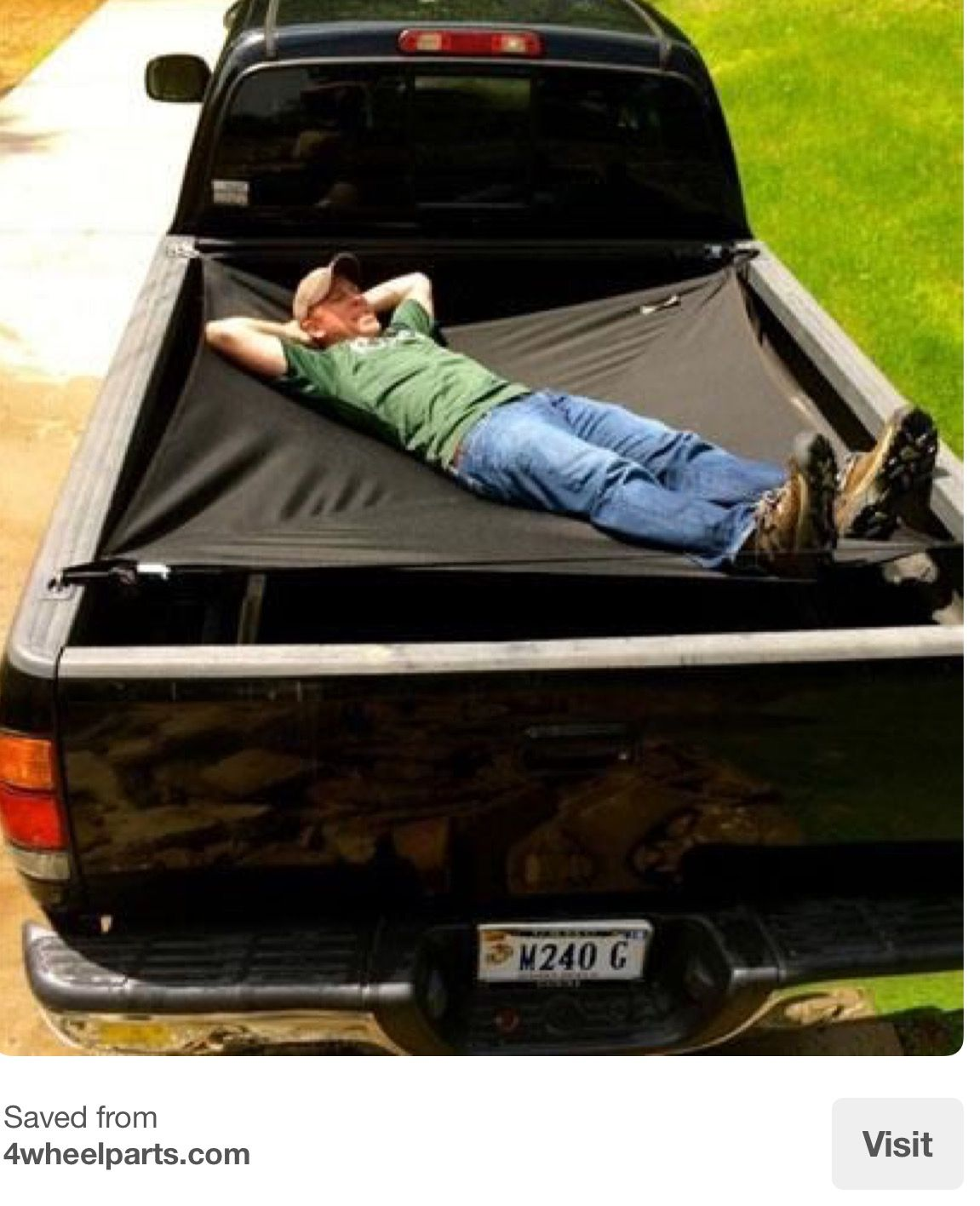The Truck Bed Lounger