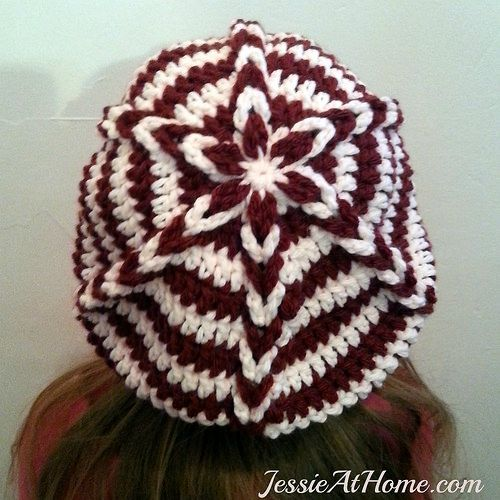 Delia-Slouch-Hat-Free-Crochet-Pattern-by-Jessie-At-Home | Muster ...