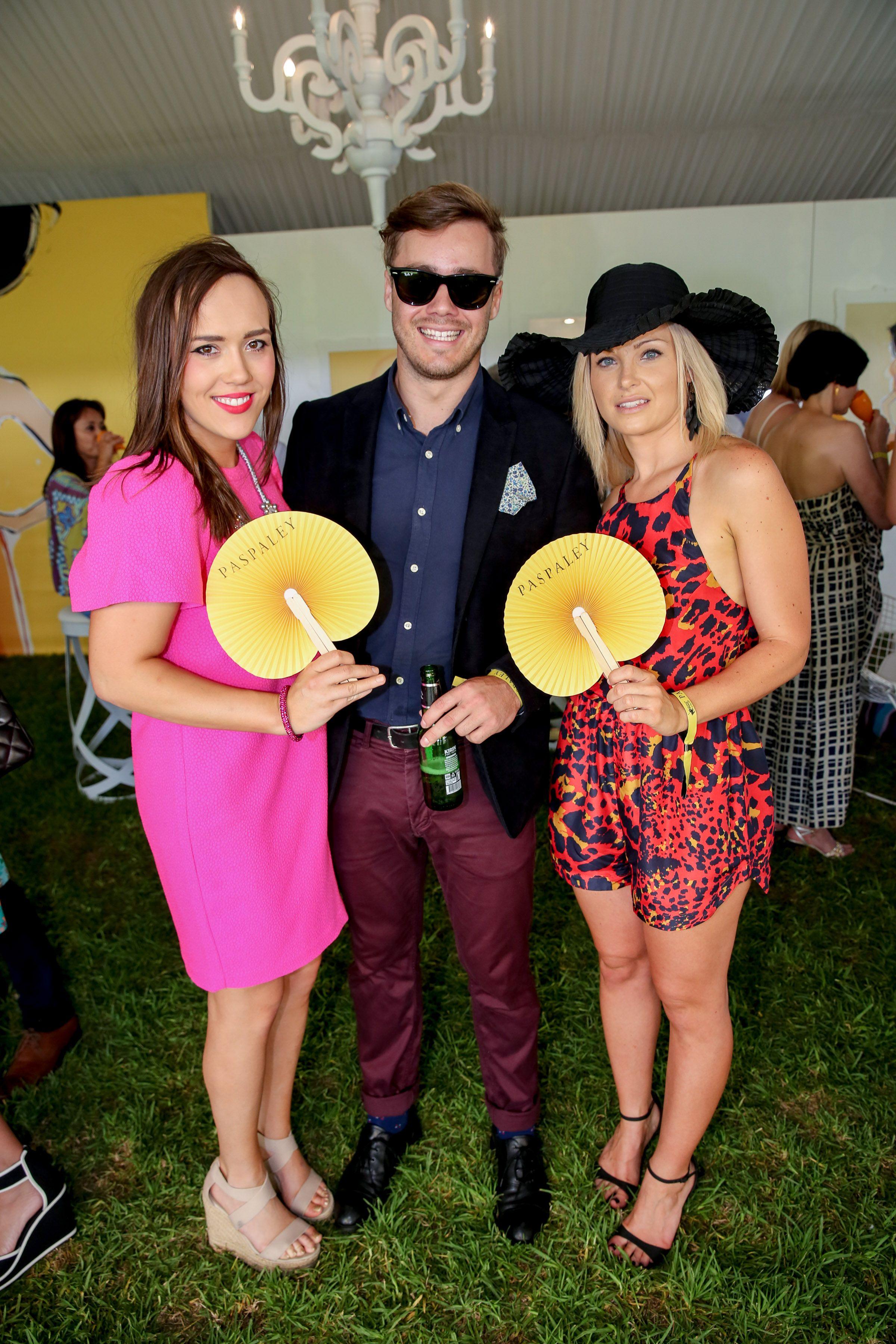 Kelly Teesdale, Dan Stephenson and Sarah Ribergaard