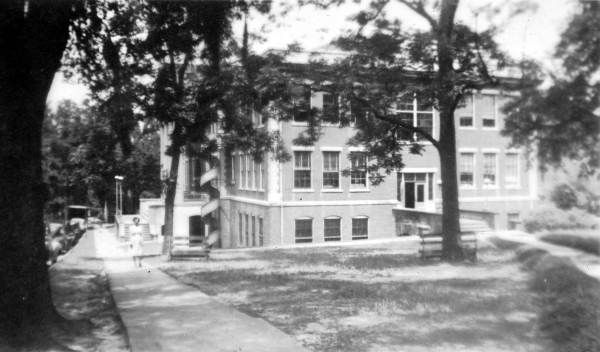 1947 view of Lively Vocational, formerly Leon County High School -  Tallahassee, Florida
