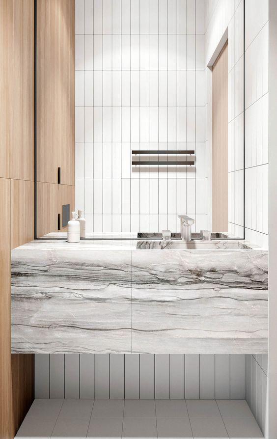 Elegant Remodeling Your Bathroom On A Budget #Haus#Dekor#Dekoration#Badezimmer# Modell