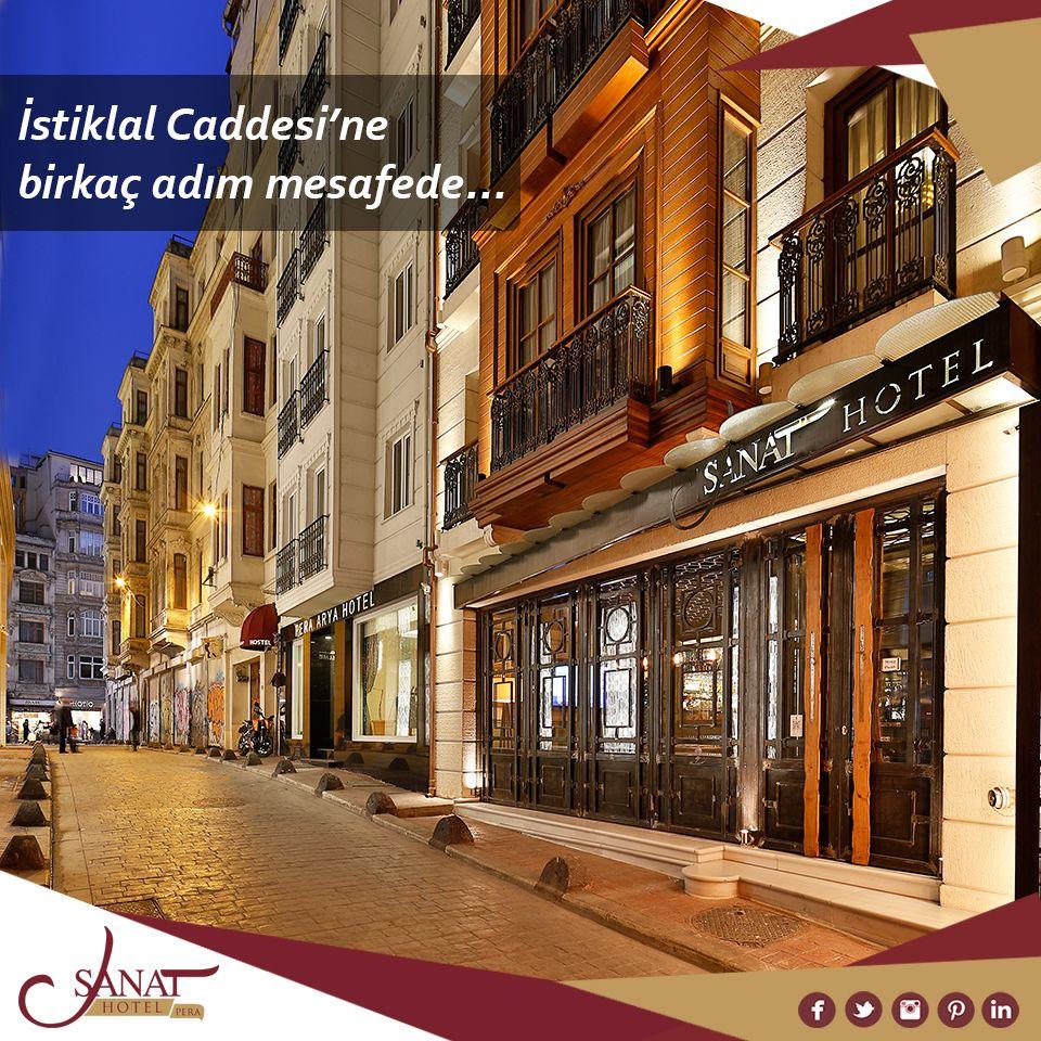 Istiklal Caddesi Ne Birkac Adim Uzaklikta Huzur Dolu Bir Otel Sanat Hotel Pera Sanathotel Taksim Beyoglu Pera Otel Hotel Oteller Mimari Tasarim Mimari