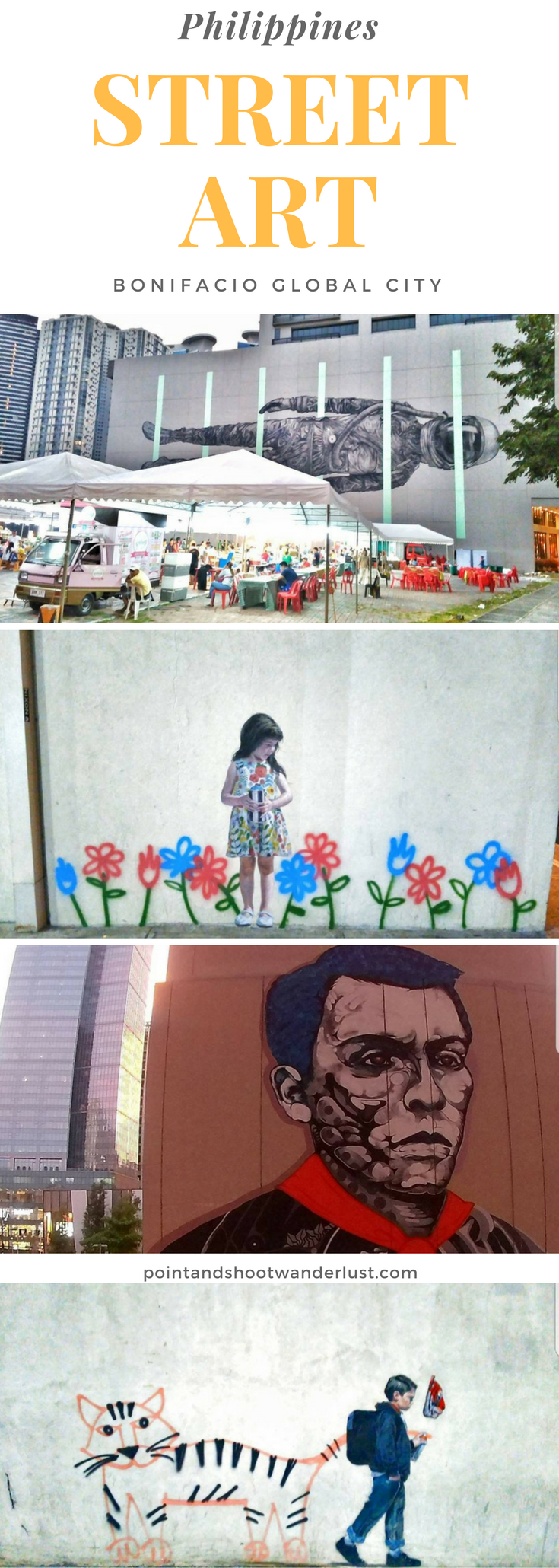 Street Art | Philippines | Bonifacio Global City Street Art | BGC Street Art | Street Photography | Where to find street art in Philippines | Asia | Southeast Asia | Art