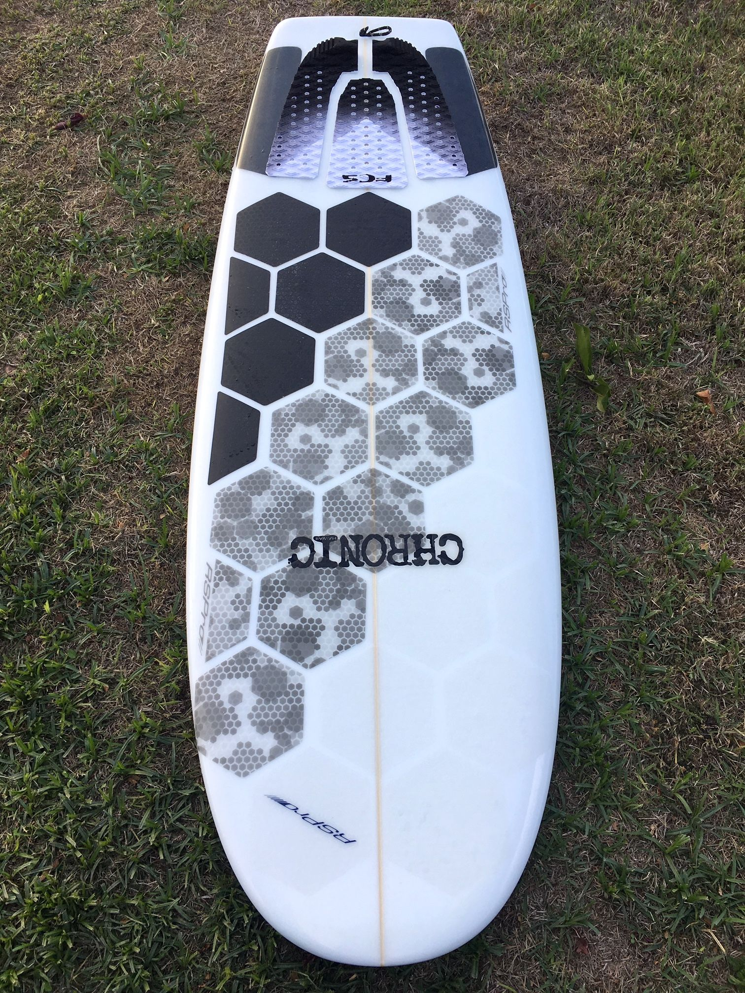 Hexatraction Board Grip//Traction Clear