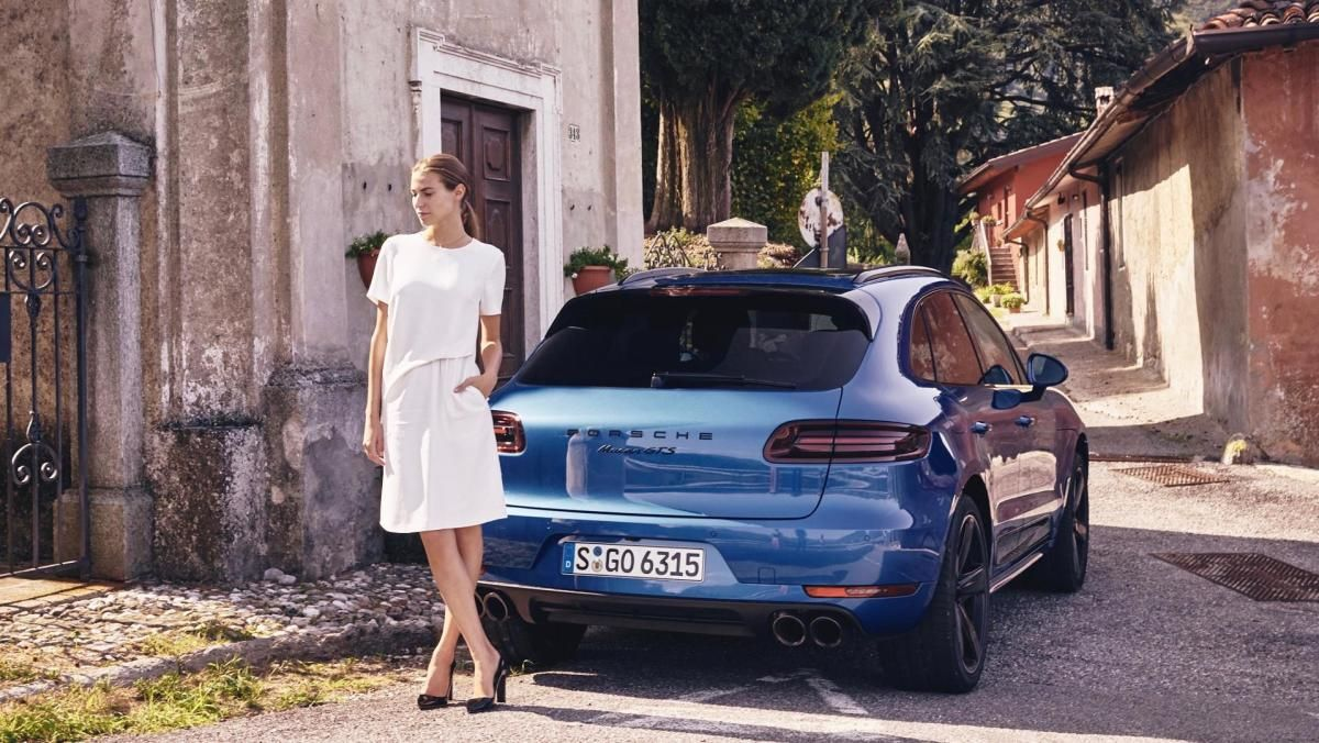 There S Nothing Like A Beautiful Model And A Porsche Macan Gts Porsche Macan Gts Porsche Italian Colors